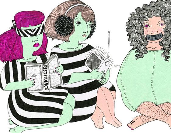 Ilustração de Erika Reir
