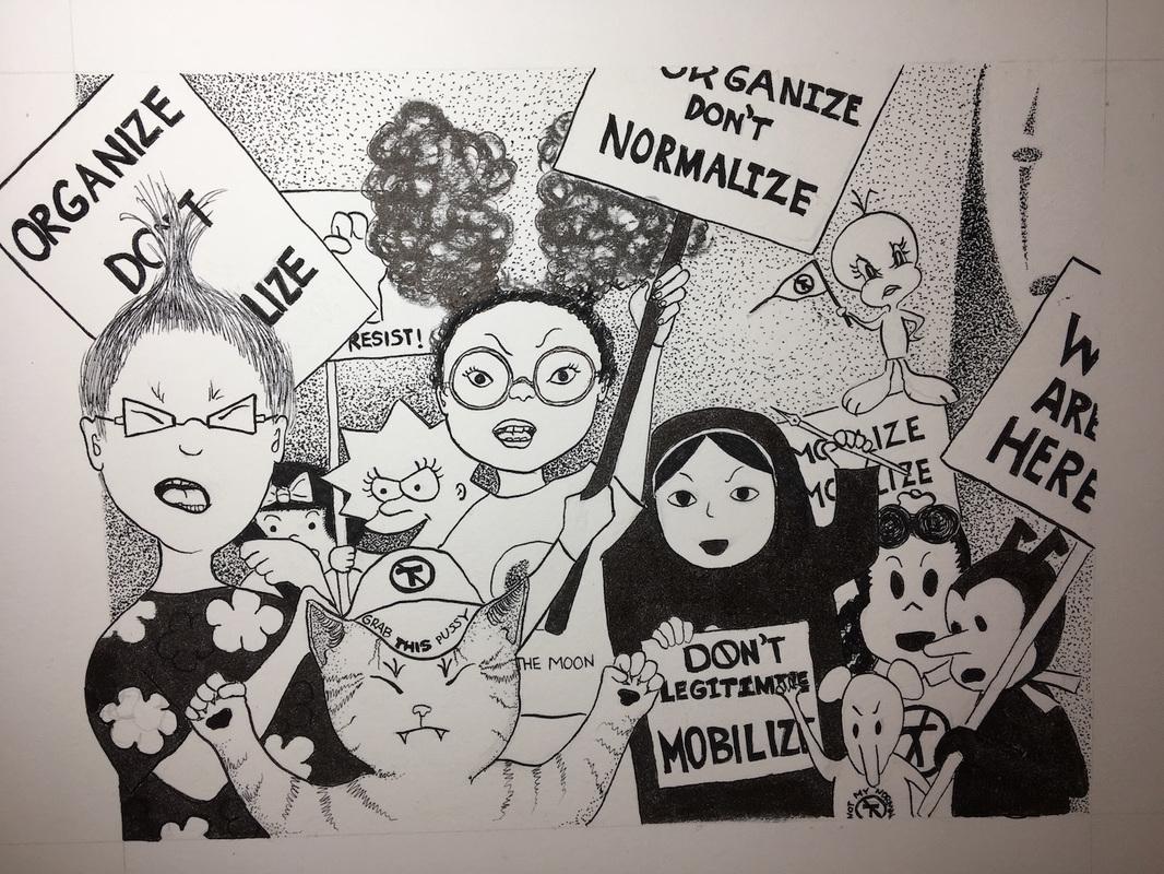 Ilustração de Sylvia Watanabe