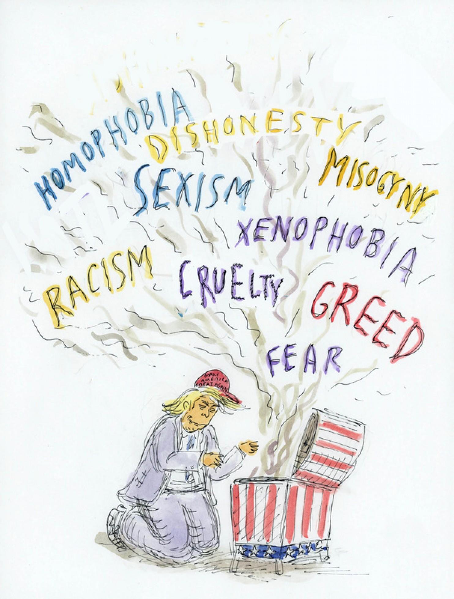 Ilustração de Roz Chast