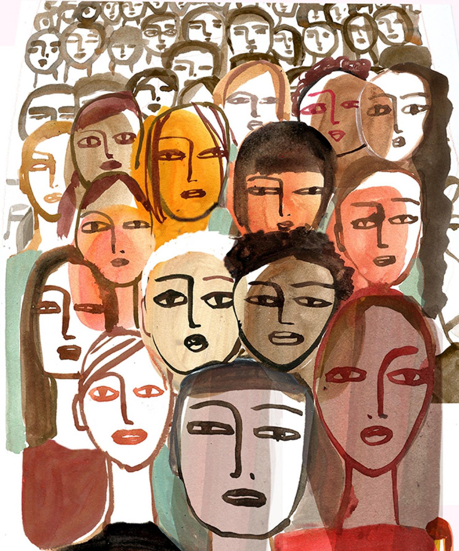 Ilustração de Gayle Kabaker