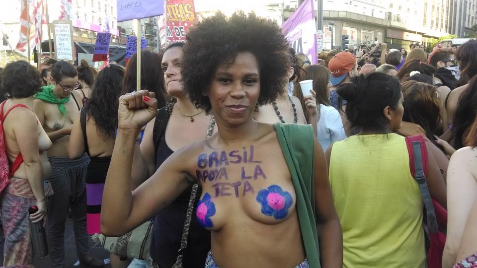Geisa Oliveira, a brasileira que engrossou o coro das argentinas