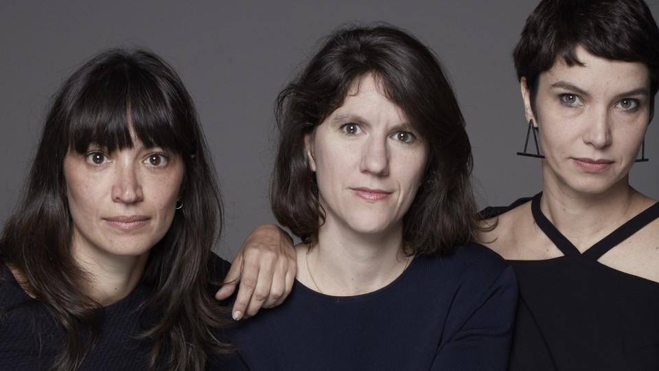 Florencia Ferrari, Gisela Gasparian e Elaine Ramos