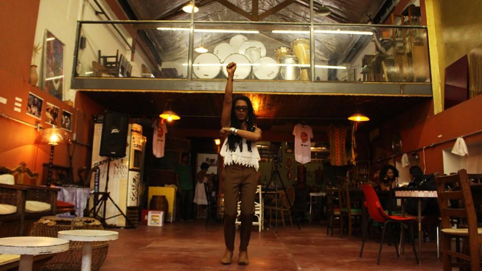 Erica Malunguinho na Aparelha Luzia, centro cultural de resistência negra que fundou em São Paulo