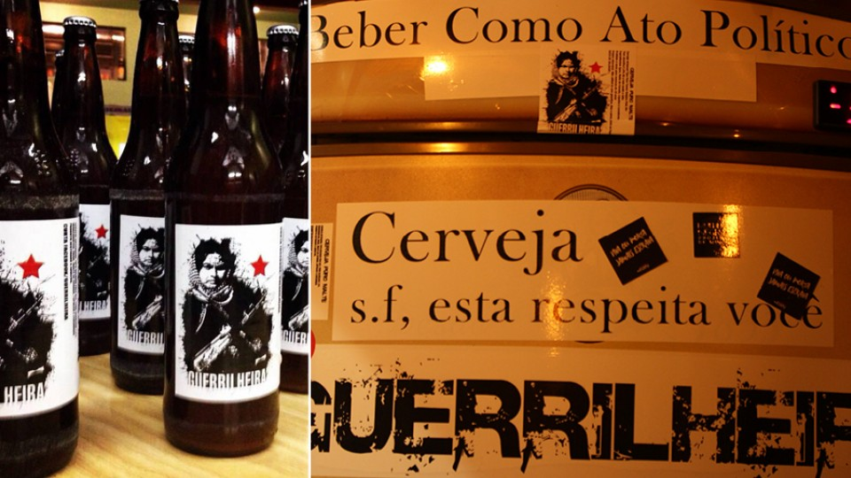 Cerveja Guerrilheira, produzida e pautada na luta feminista e racial