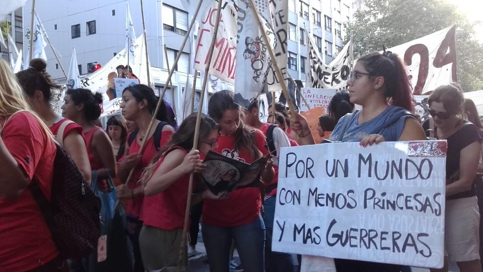 Greve Internacional de Mulheres, em Buenos Aires