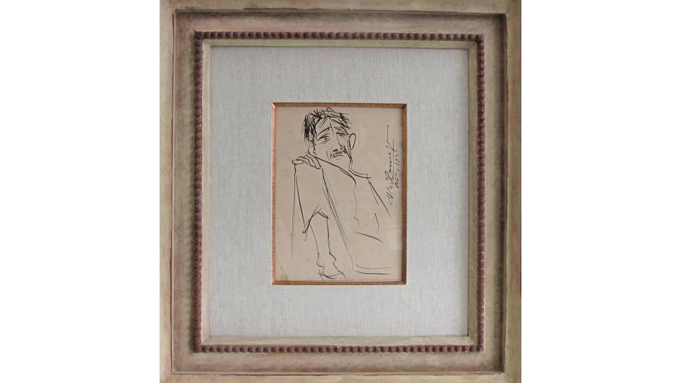 Desenho de Di Cavalcanti