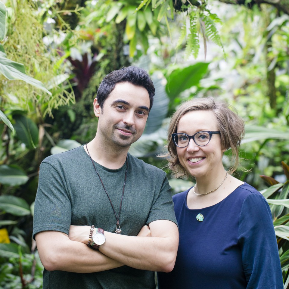 Judith de Graaff e Igor Josifovic, criadores do Urban Jungle Blogger