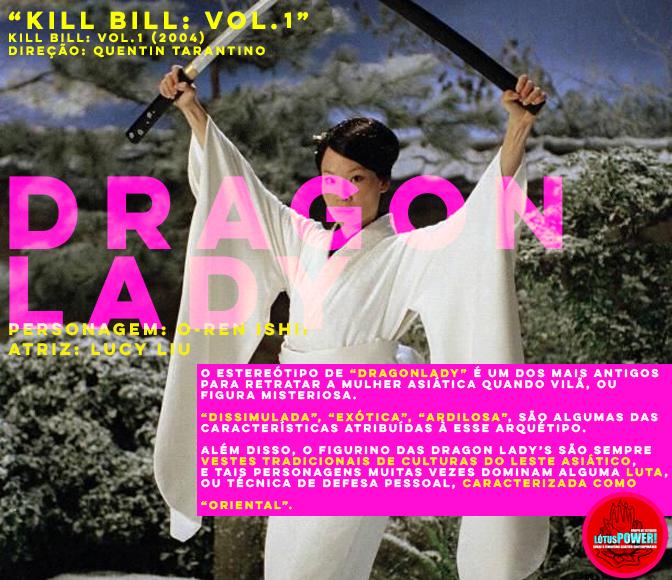 """""""KILL BILL: VOL. I"""" Direção: Quentin Tarantino Personagem: O-ren Ishii Atriz: Lucy Liu"""