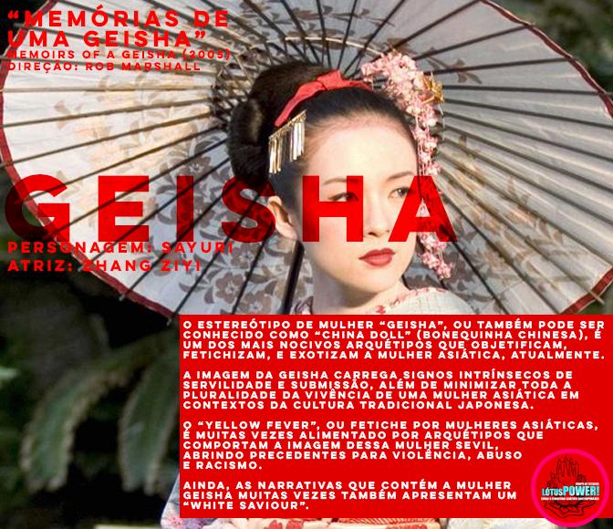 """""""MEMÓRIAS DE UMA GEISHA"""" (2005) Direção: Rob Marshall Personagem: Sayuri Atriz: Zhang Ziyi"""