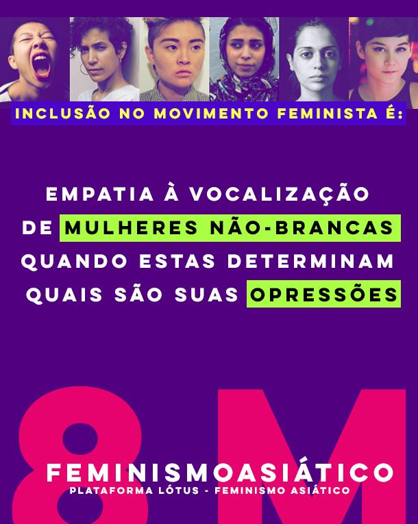 """""""Não apenas comemorar ou refletir, mas possamos buscar reais formas de transformar nossas realidades, visando os direitos equânimes de gênero, o empoderamento feminino e a libertação às estruturas patriarcais vigentes em sociedade."""""""