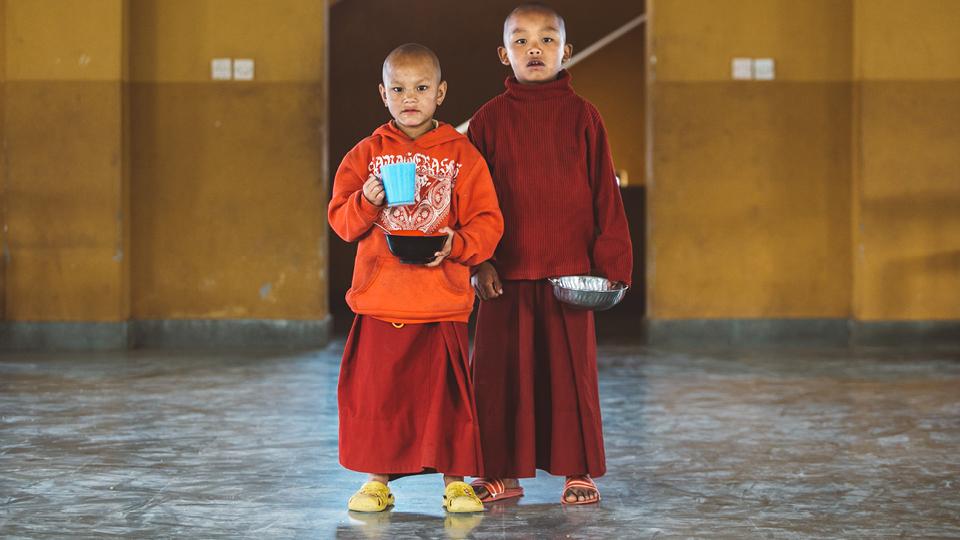 O tsampa é uma bebida tradicional dos monges tibetanos. Alguns deles passam longos meses, até anos, consumindo somente esse chá, a base de manteiga