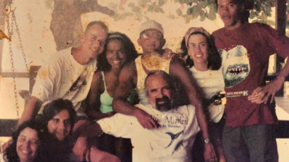 Com Fernanda Torres, Luiz Fernando Guimarães, Andrucha Waddington e amigos