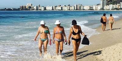 """Alexandre Kalache: """"Copacabana é o Brasil do futuro"""""""