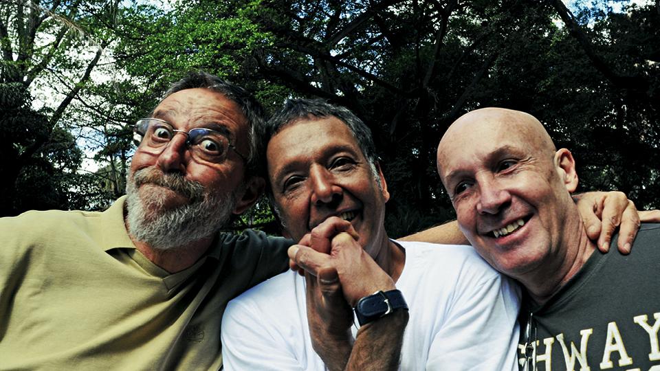 Polé, Arnaldo e Eduardo Bastos, 2009, no encontro promovido pela Trip em Belo Horizonte