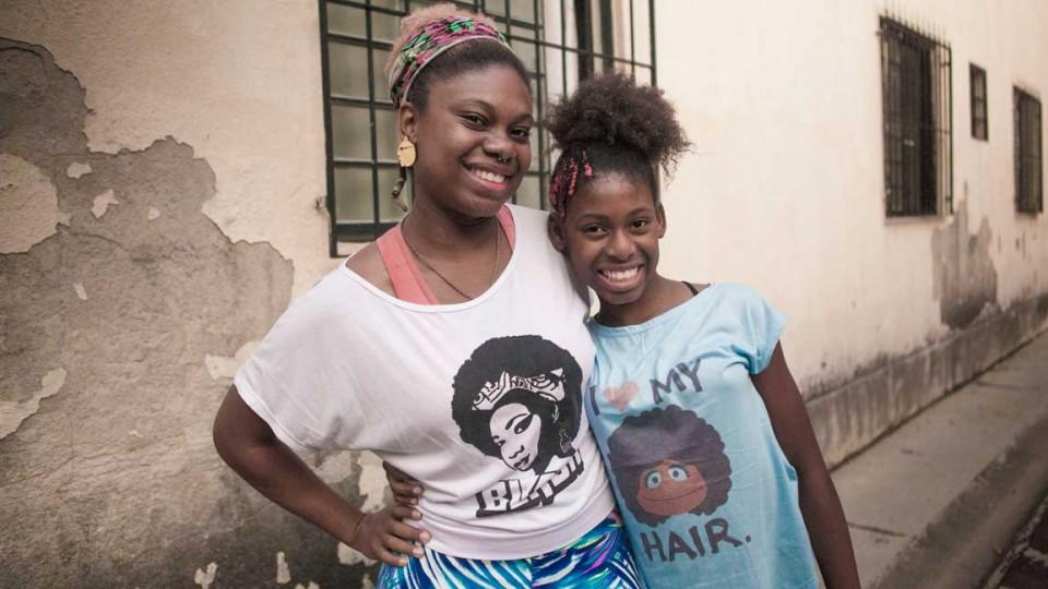 Kamilah Pimental e a filha, MC Soffia