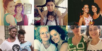 Mães e filhas trocam dicas de livros