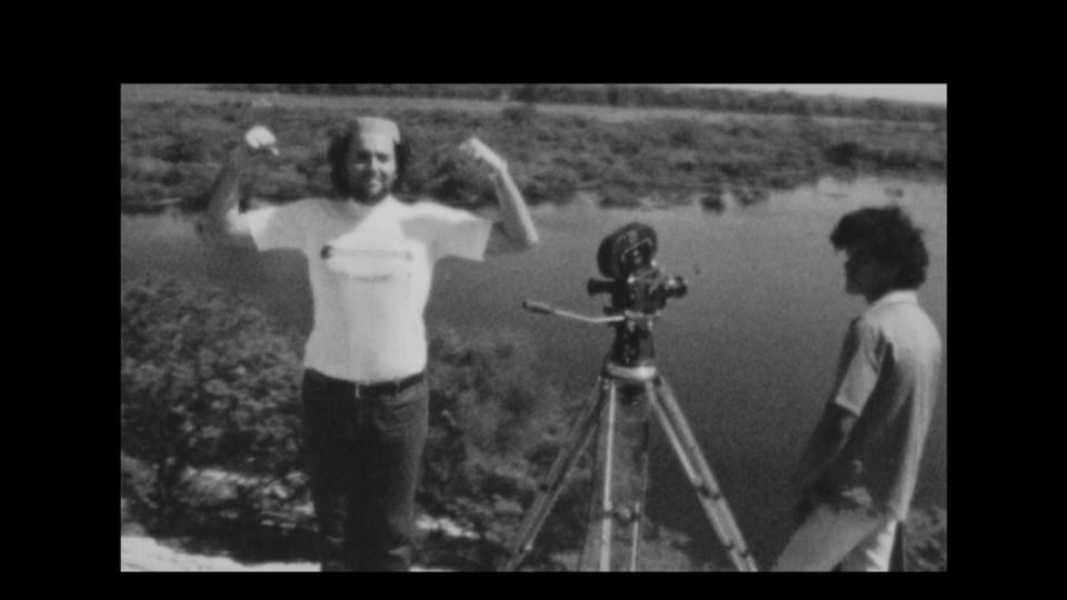 Babenco com o também diretor Jorge Bodanzky, na Amazônia