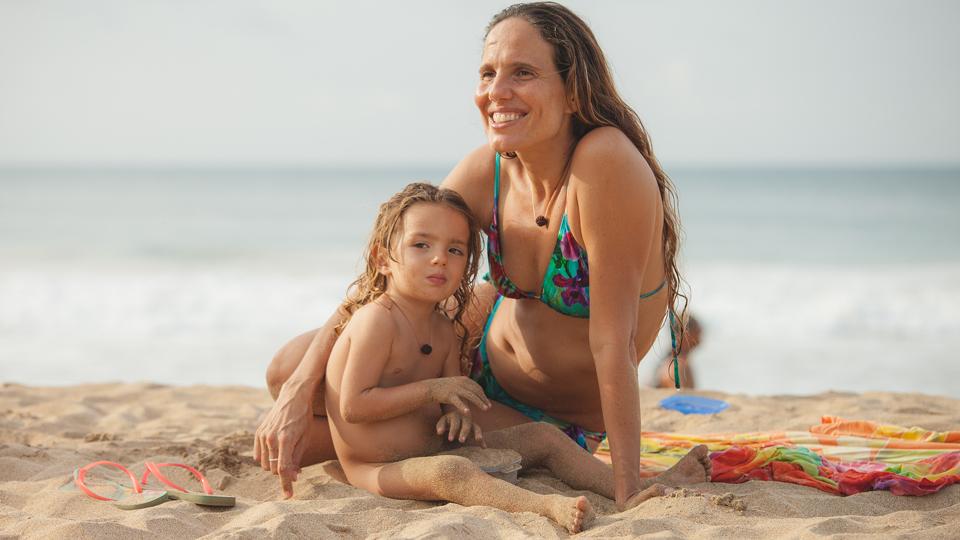 Silvia Figaro Morelli, 38, e Ravi, que nasceu em Natal, em 2014