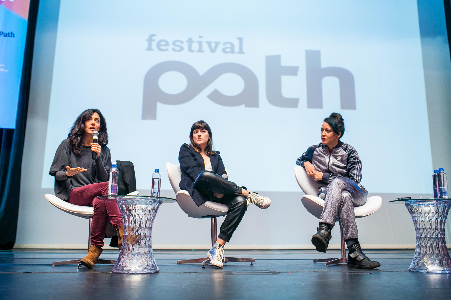 Marina Person, Vera Egito e Roberta Estrela D'Alva falaram sobre o papel da mulher no mercado audiovisual