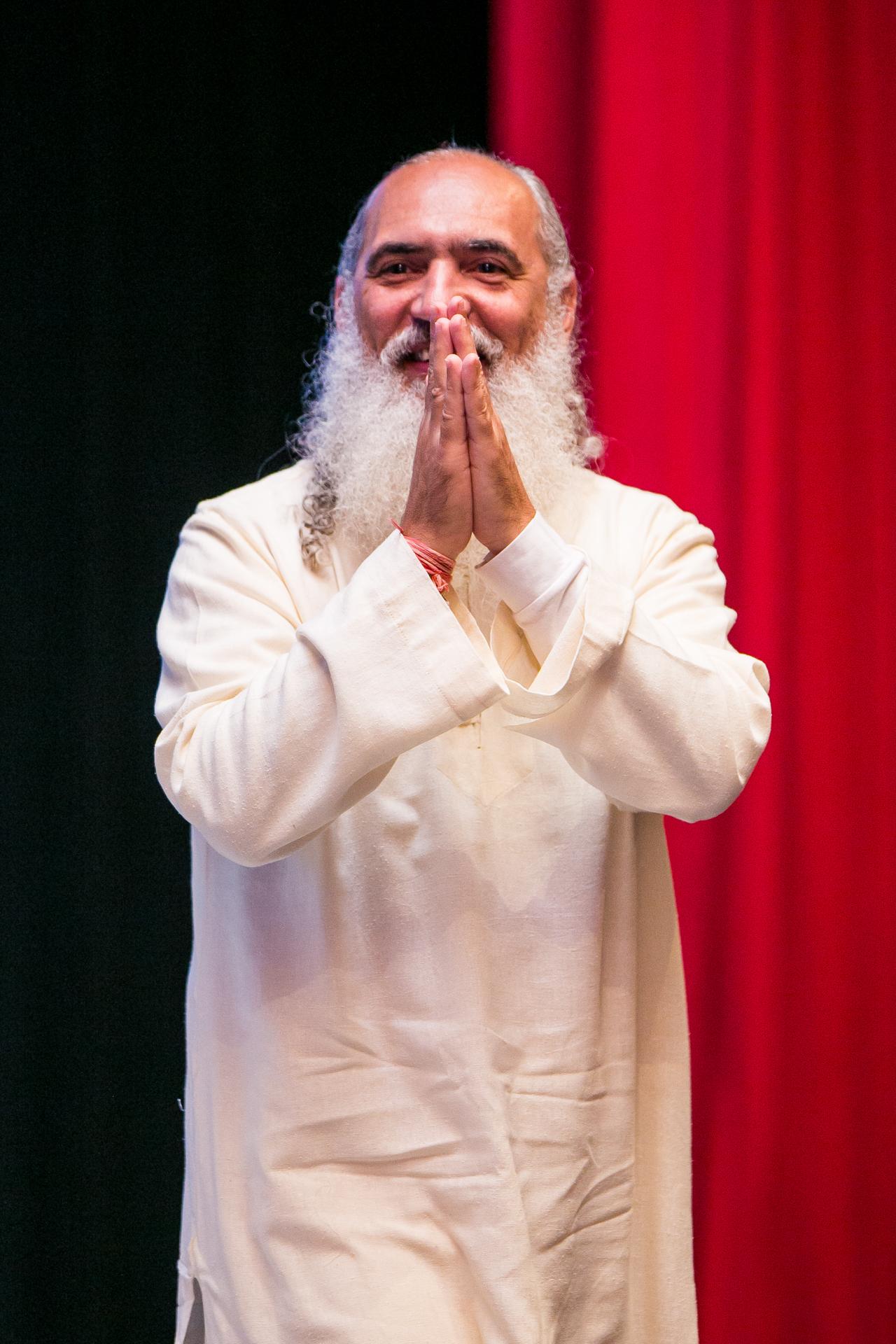 Sri Prem Baba, que palestrou sobre propósito