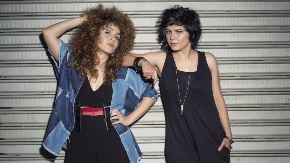 Aíla e Roberta Carvalho: idealizadoras do festival M.A.N.A.