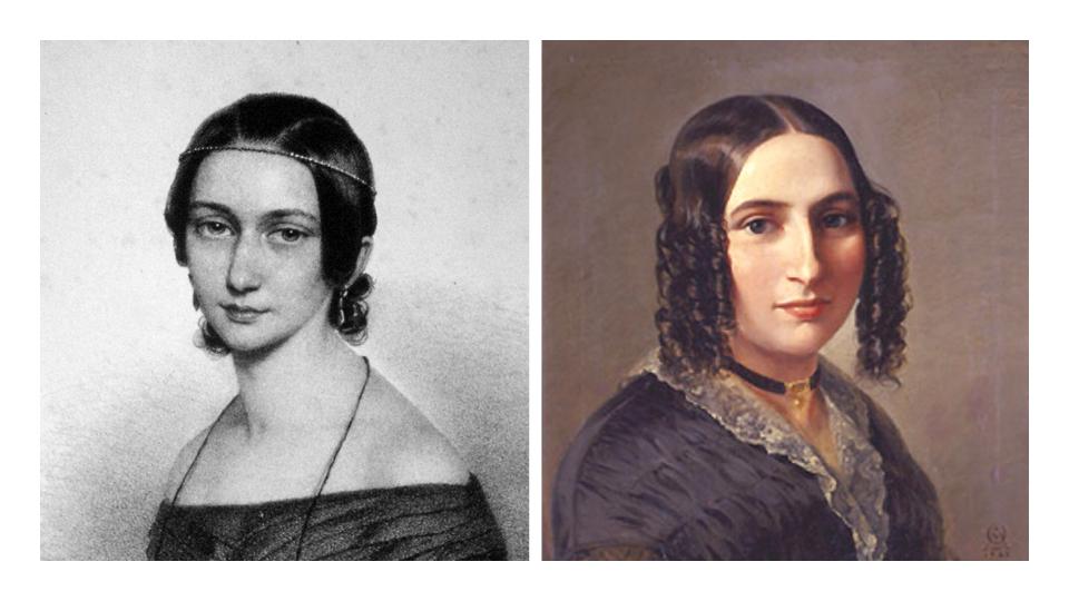 Clara Schumann e Fanny Mendelssohn