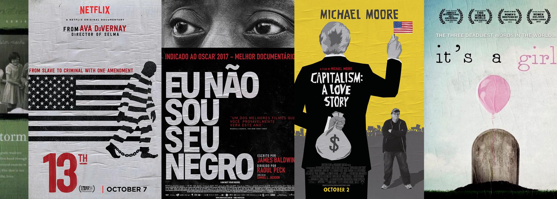 16 documentários para entender seus privilégios