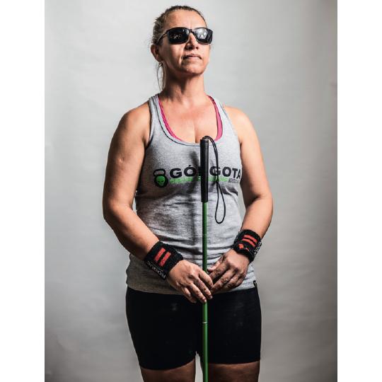 """""""A minha busca é sempre por superação"""" - Eleuza Matias, 44, multiesportista"""