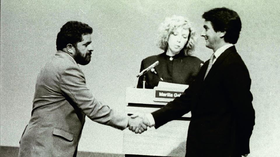 Debate entre Lula e Collor, em 1989
