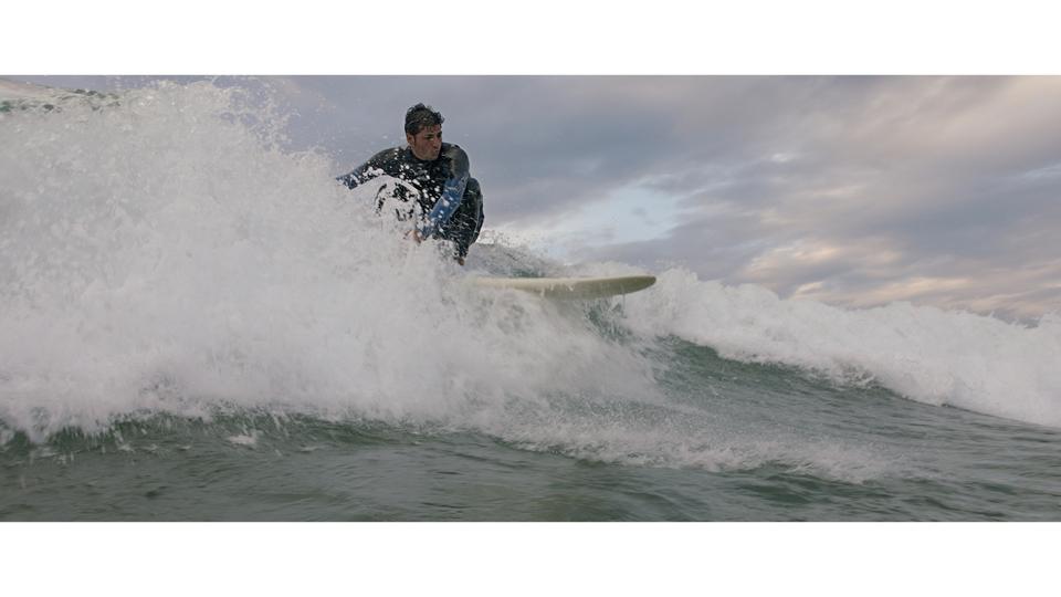 Cenas do surf local