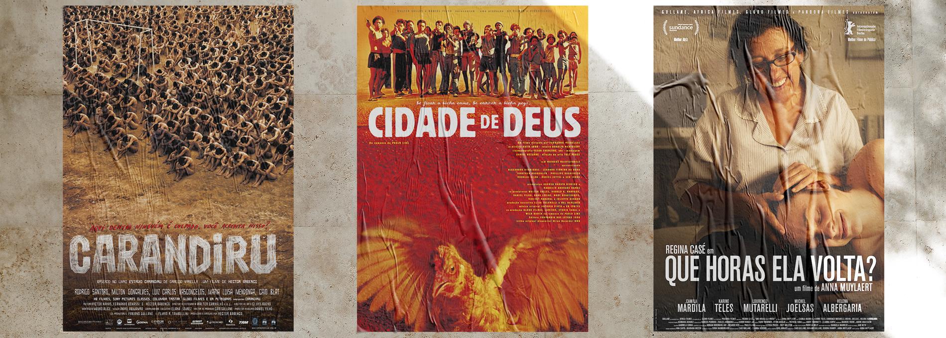 Marcelo Pallotta, o designer dos cartazes de filmes como Cidade de Deus,  Carandiru e Que Horas Ela Volta