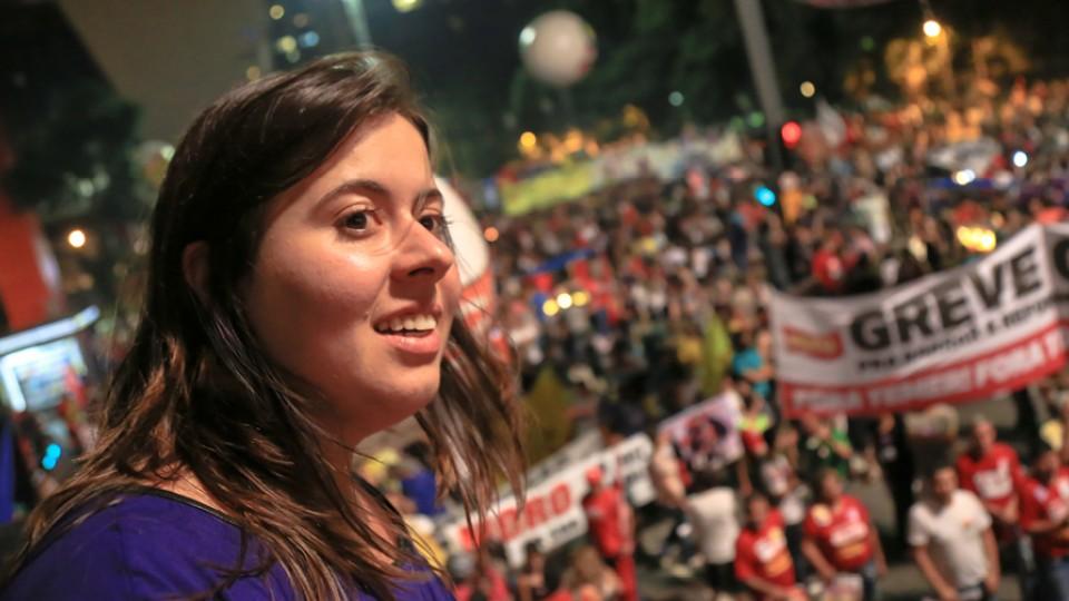 No 15M, 15 de março de 2017, dia da paralisação nacional contra as reformas e contra o Governo Temer