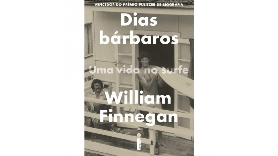 """Capa do livro """"Dias Bárbaros"""""""