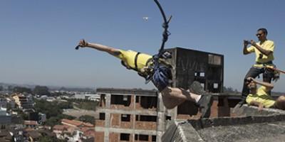 Campeonato inédito de rope jump em São Paulo