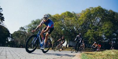A corrida de bicicletas sem freio
