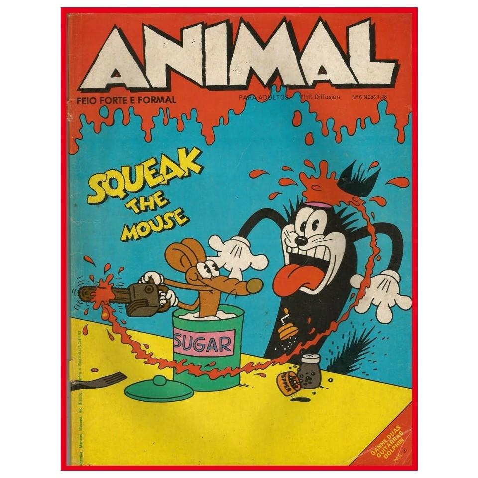 Revista Animal foi uma referência dos quadrinhos underground na década de 80