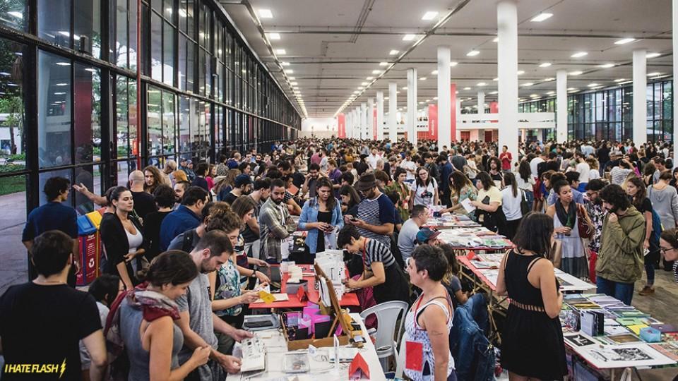 Quinta edição da Plana - Festival Internacional de Publicações de São Paulo, em 2017, contou com 250 expositores
