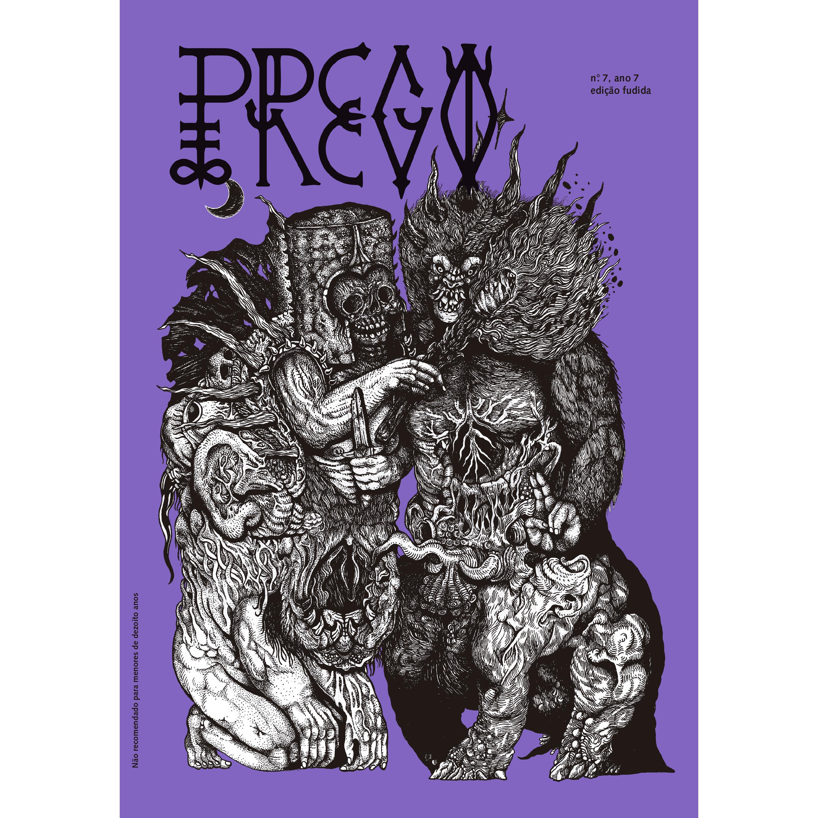 Prego - Antologia de quadrinhos, colagens, ilustrações, fotografias e entrevistas, com veia punk. Foi criada em 2007 por um coletivo do Espírito Santo e teve sete edições.
