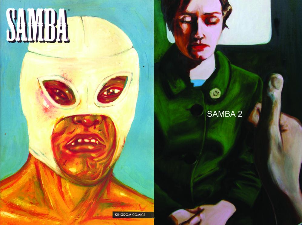 Samba - Antologia que reúne quadrinhos de humor, ficção realista e fantástica, biográficos, pinturas e experimentações visuais. Desde 2008 foram publicadas três edições que logo poderão ser adquiridas online.