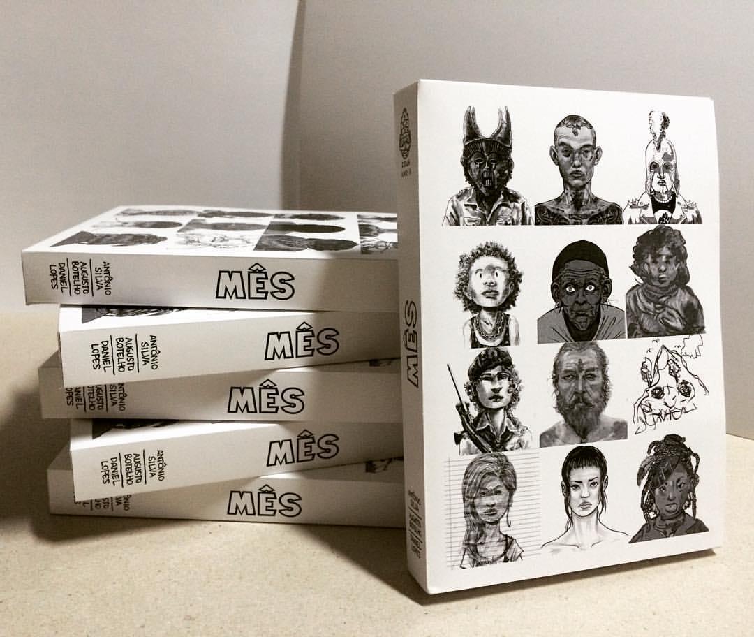 MÊS - Antologia de quadrinhos produzida em Brasília. A revista foi publicada mensalmente, nos anos de 2013 e 2016,  e os exemplares são vendidos online e em feiras de quadrinhos.