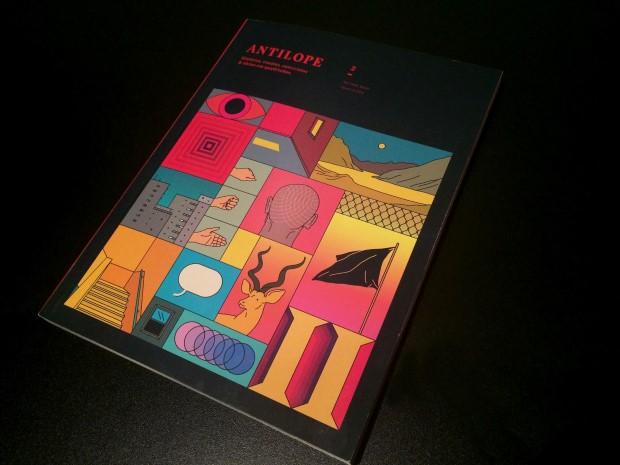 Antílope - Revista que mistura quadrinhos de artistas brasileiros e estrangeiros com críticas e ensaios sobre a nona arte. Foi criada em 2013 e possui duas edições vendidas online.