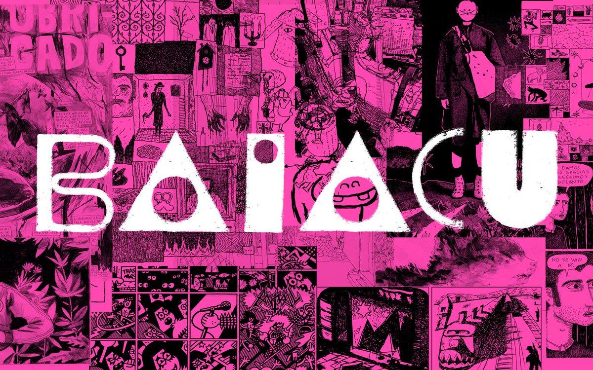 Baiacu - Revista-livro de quadrinhos e experimentações visuais, idealizada por Angeli, Laerte e Rafael Coutinho. Será lançada em novembro de 2017.