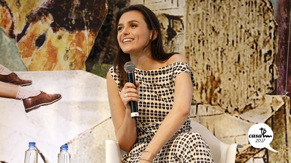 A atriz e apresentadora Monica Iozzi fala sobre suas experiências pessoais