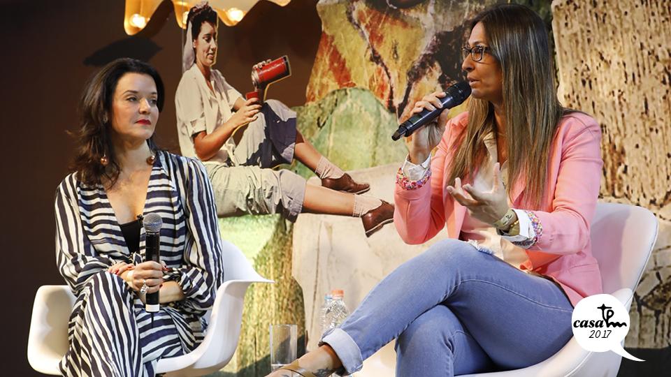 Carla Boin e Mônica Azzarati conversaram sobre comunicação não violenta
