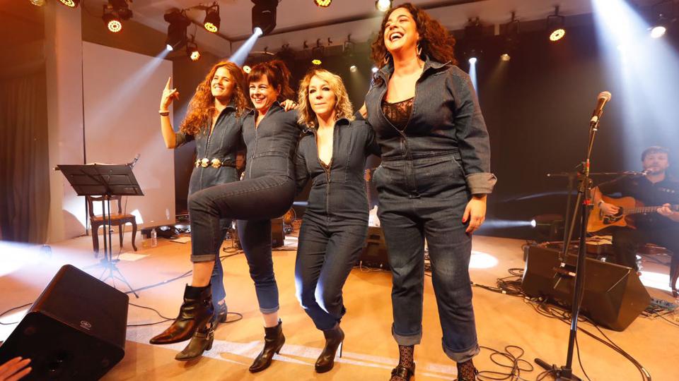 Ana Cañas, Taciana Barros, Karina Buhr e Martha Nowill