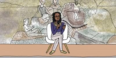 Reflexões de Djamila Ribeiro em quadrinhos