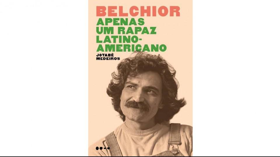 Capa da biografia de Belchior, pela editora Todavia