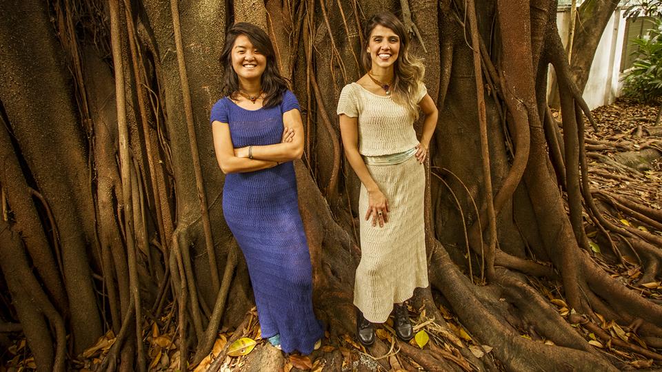 Cintia Kita e Fernanda Lima, criadoras da Makra