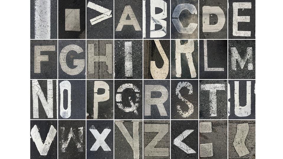 Alfabeto fragmentado
