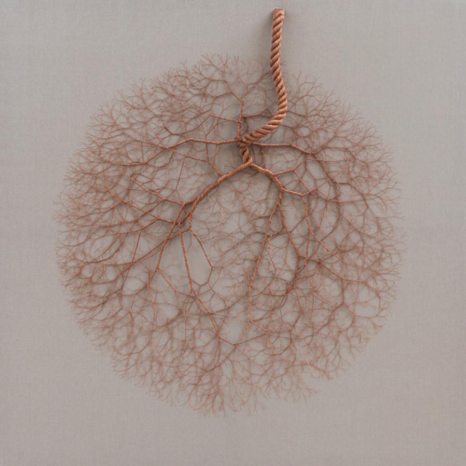 Artista plástica Janaina Mello Landini criou obras de arte com cordas que  imitam formas da natureza - Tpm